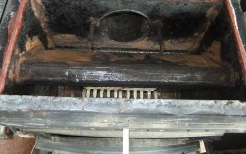 Serviced Stove